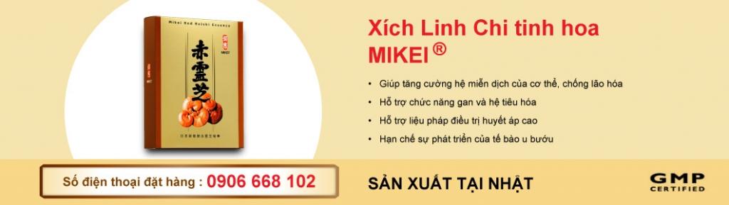 xich-linh-chi-mikei - Sản phẩm nấm reishi - thực phẩm chức năng tăng cường sức khỏe